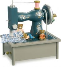 Musical Clock Sewing Machine